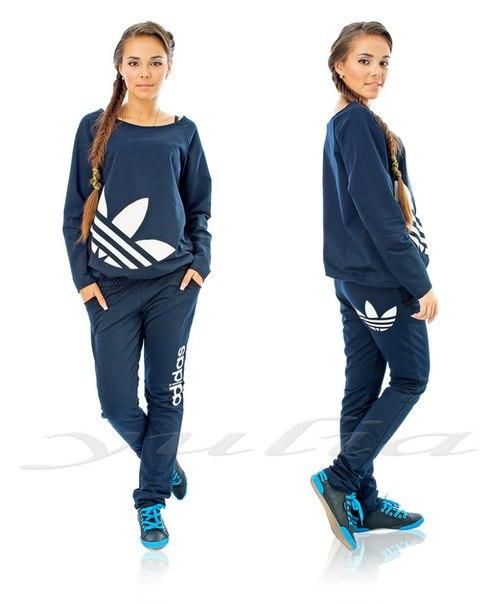 Спортивный костюм Adidas карманы